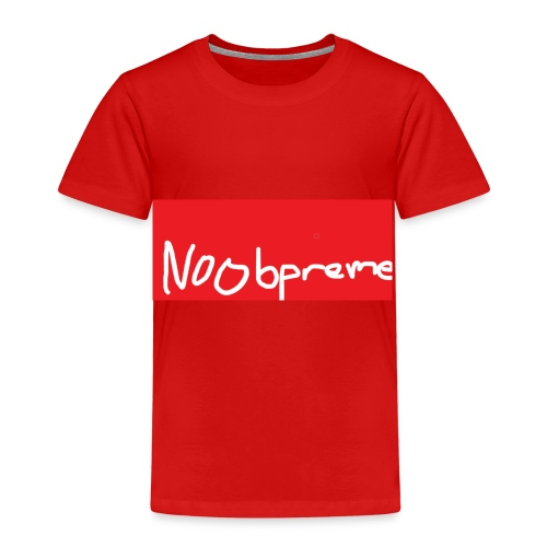 Noobpreme Red White - Kinder Premium T-Shirt