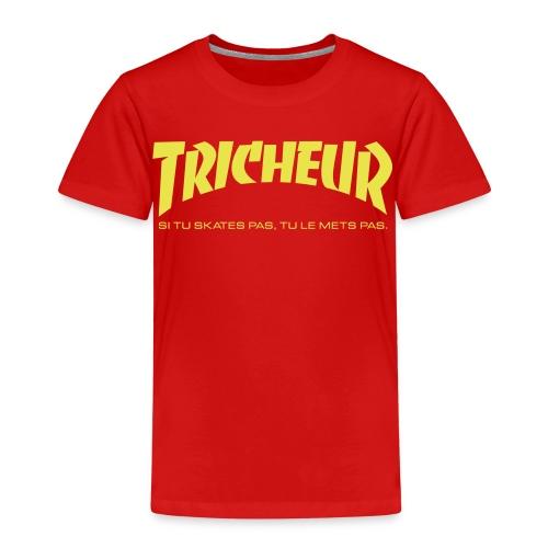 skateboard trasher tricheur - T-shirt Premium Enfant