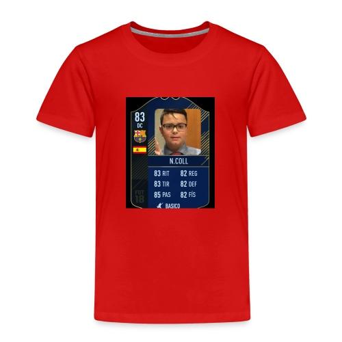 CARTA FUTBOL N.COLL - Camiseta premium niño