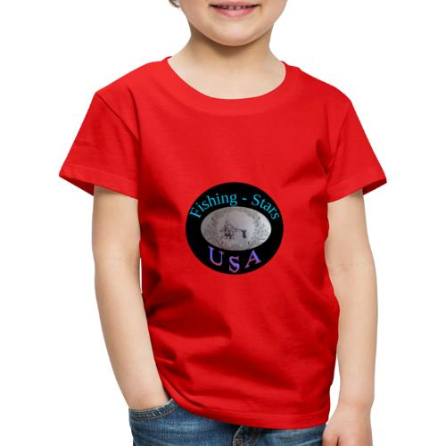 Fishing - Stars USA - Kinder Premium T-Shirt