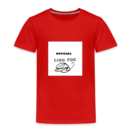 "Lion Foe ""Signature"" - Kinder Premium T-Shirt"