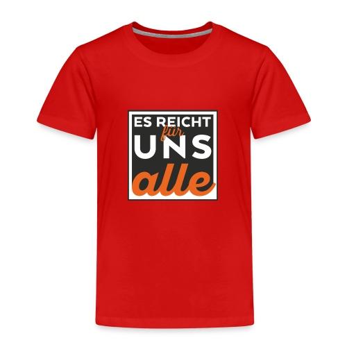esreichtfuerunsalle - Kinder Premium T-Shirt