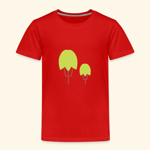 Thick Happy Tree Color - Kinder Premium T-Shirt