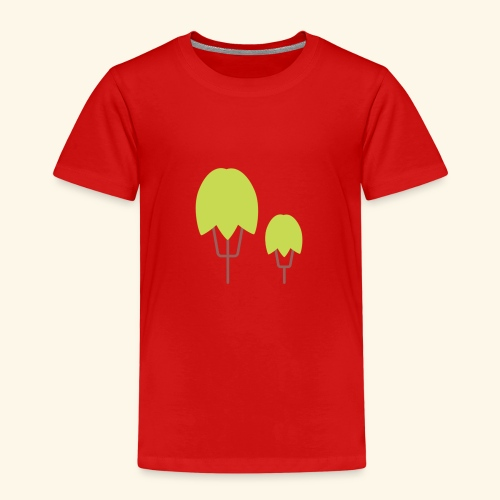 Thick Happy Tree Color - Kinder Premium T-Shirt