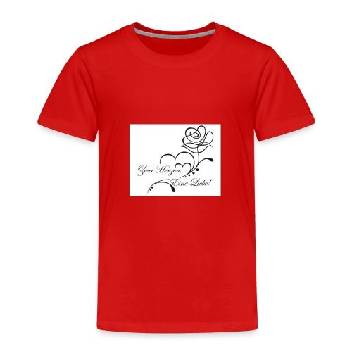 Zwei Herzen - Kinder Premium T-Shirt