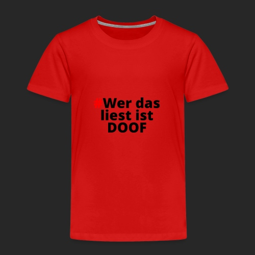 DOOF - Kinder Premium T-Shirt