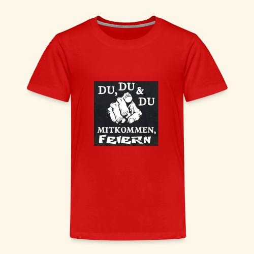 party feier spruch - Kinder Premium T-Shirt