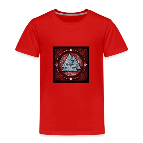 Viking triangle de la force - T-shirt Premium Enfant