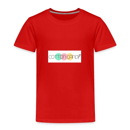 COTTON CANDY LOGO - Kids' Premium T-Shirt