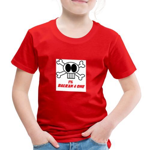 Skull Balkan - Kinder Premium T-Shirt
