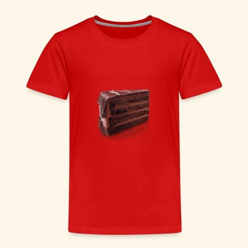 chocolate cake - Kids' Premium T-Shirt