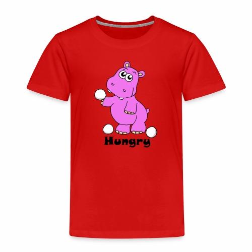 Hungry Hippo - Kids' Premium T-Shirt