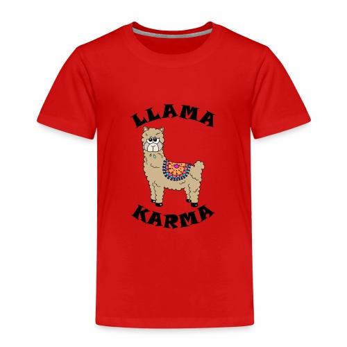 Llama Karma - Kids' Premium T-Shirt