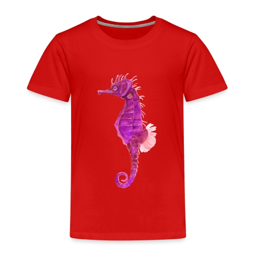 Pinkes Seepferd - Kinder Premium T-Shirt