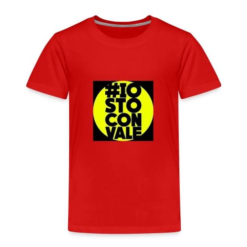 #IO STO CON VALE - Maglietta Premium per bambini
