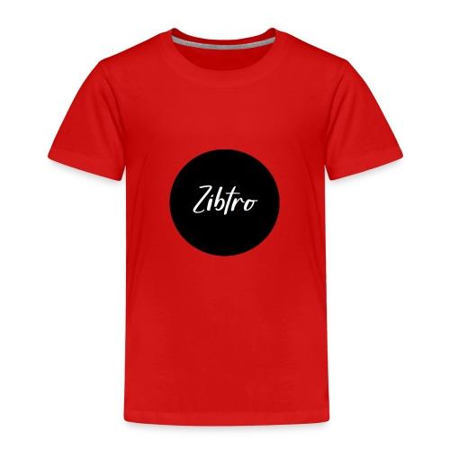 Zibtro zwart - Kinderen Premium T-shirt