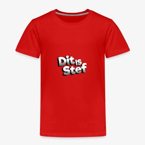 Dit is Stef Logo - Kinderen Premium T-shirt