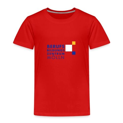 BBZ Logo blaue Schrift Schulkleidung.eps - Kinder Premium T-Shirt