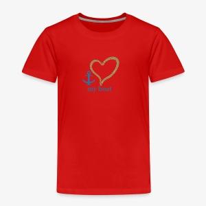 LOVEmyboat - Kinder Premium T-Shirt