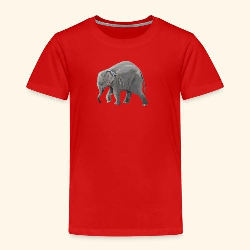 Baby elephant on a Mission - Kids' Premium T-Shirt