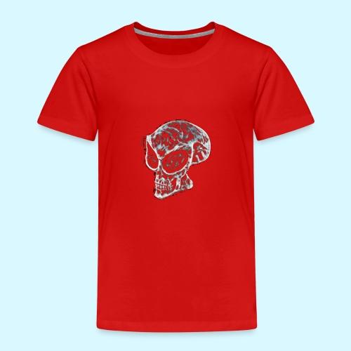 smokey Skull - Kids' Premium T-Shirt