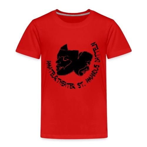 klassisches ATAD Logo mit Schrift - Kinder Premium T-Shirt