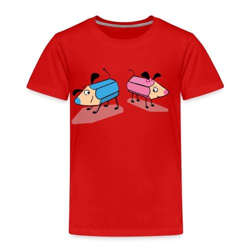 Hundstift Hugo und Rosa, beste Freunde - Kinder Premium T-Shirt