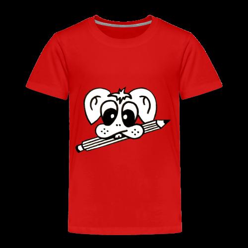 mister rabbitissimo school - Kinder Premium T-Shirt