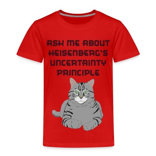 The Uncertain Cat - Kids' Premium T-Shirt