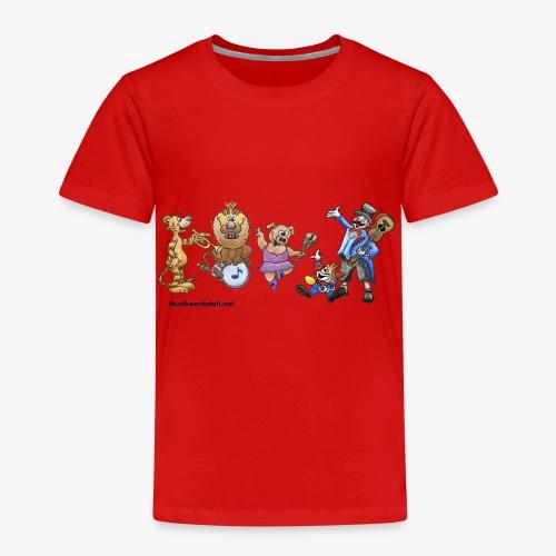 Musik-Zirkus - Kinder Premium T-Shirt