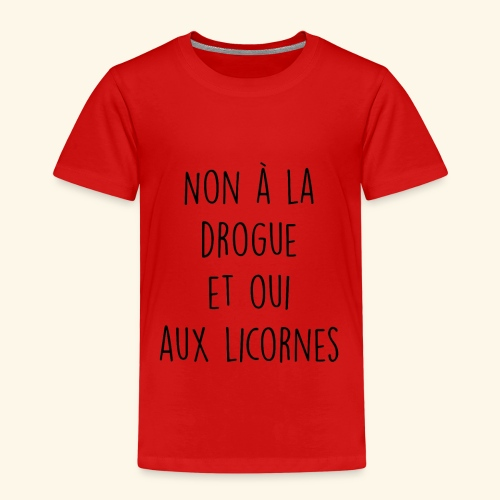 Citation drole - T-shirt Premium Enfant