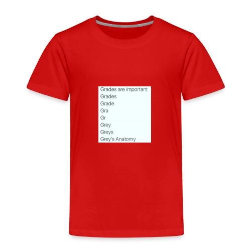 greys anatomy life - Kids' Premium T-Shirt
