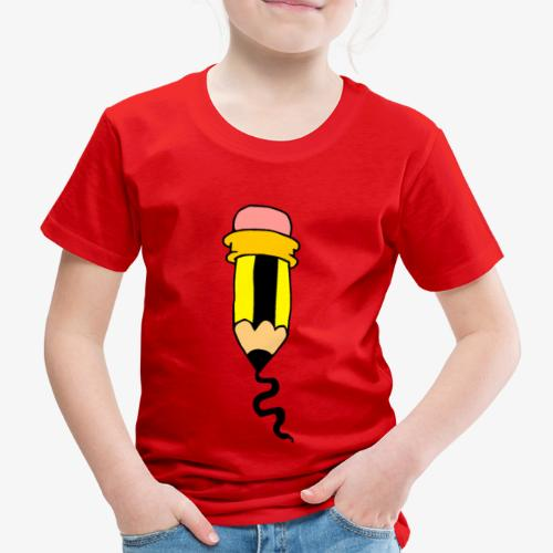 Pencil - Camiseta premium niño