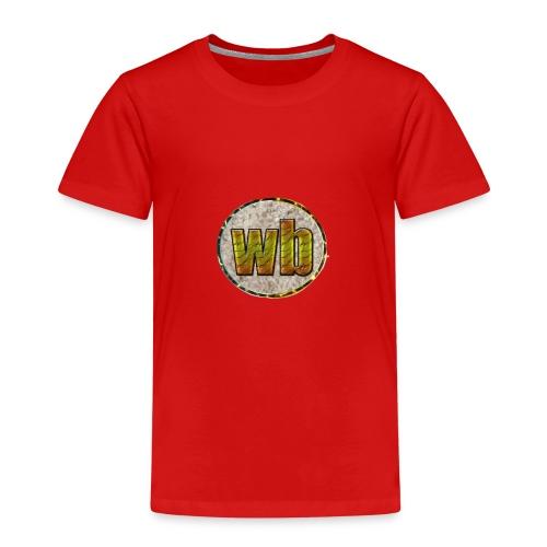 logo WB - Kinderen Premium T-shirt