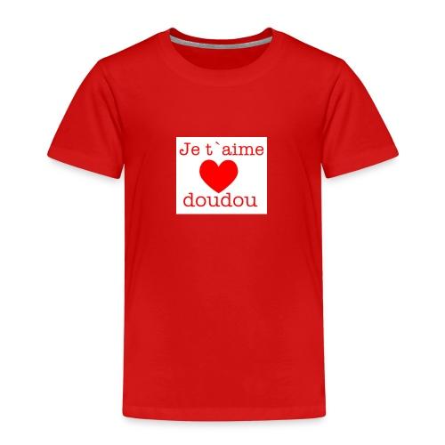 je t aime love doudou - T-shirt Premium Enfant