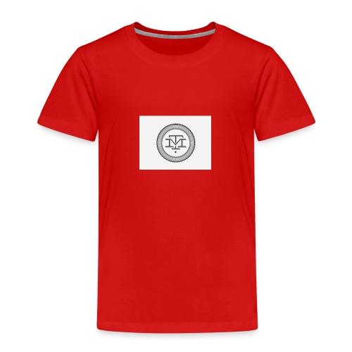 M T logo - Premium T-skjorte for barn