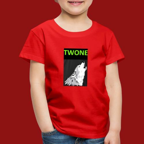 Offizielles Logo von der Band Twone - Kinder Premium T-Shirt