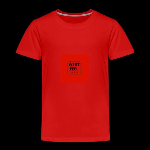 WEST FEEL logo rouge - T-shirt Premium Enfant