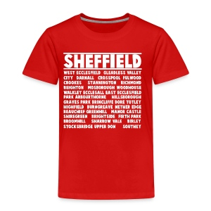 Sheffield City (White) - Kids' Premium T-Shirt