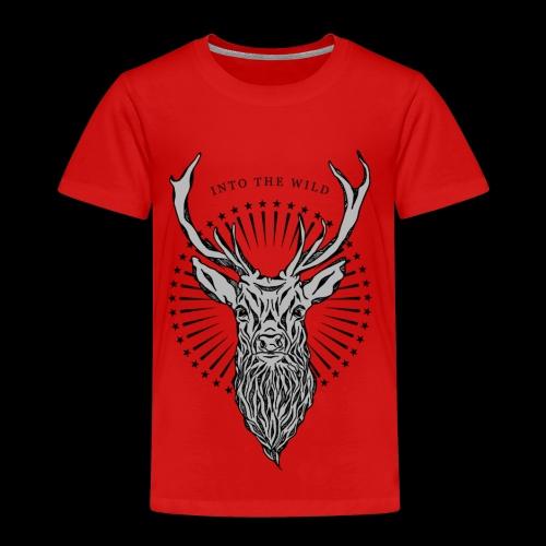 Hirsch - Into the Wild - Kinder Premium T-Shirt