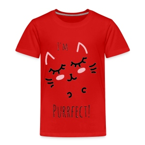 I'm Purrfect! - Kinder Premium T-Shirt