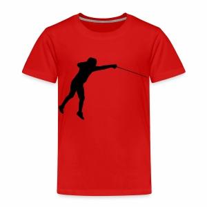 Jumping Fencer - Kinder Premium T-Shirt