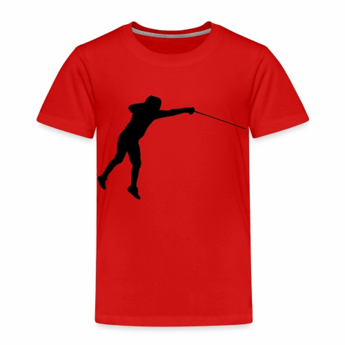 Jumping Fencer - Kinder Premium T-Shirt