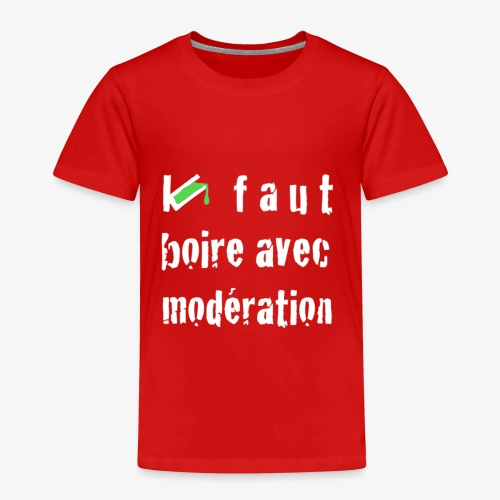 test t shirt FACE BLANC - T-shirt Premium Enfant