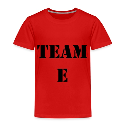 Team E - Premium-T-shirt barn