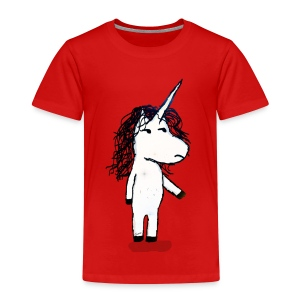Angry unicorn - Kids' Premium T-Shirt