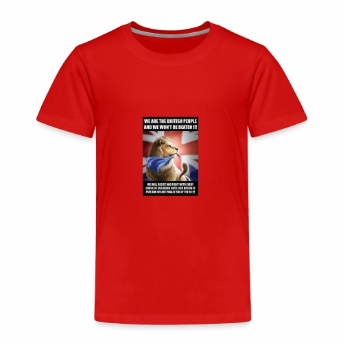 we are british people - Kids' Premium T-Shirt