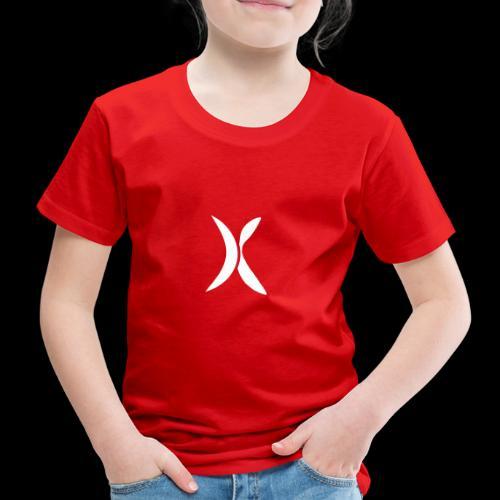 Extra FITNESS Logo weiß - Kinder Premium T-Shirt