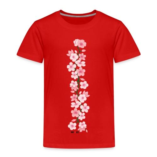 mioki cherry blossom - Kinder Premium T-Shirt
