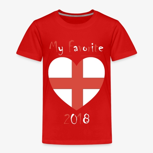 Mein Favorit T-Shirt England - Kinder Premium T-Shirt